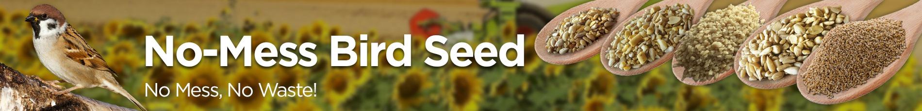 No-Mess Bird Seed