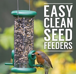 Easy Clean Bird Feeders