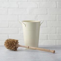 Plastic Free Toilet Brush and Holder Set