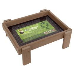 Ground Feeding Tray - Weathered Wood Effect