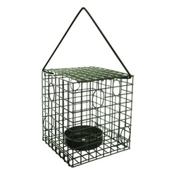 Square Caged Mealworm Feeder