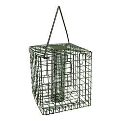 Square Caged Peanut Feeder