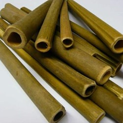 Drilled Wooden Bee Nesting Tubes