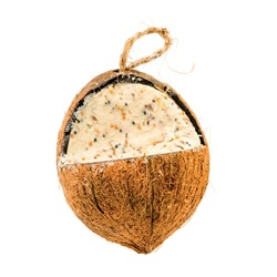 Whole Coconut Suet Feeder