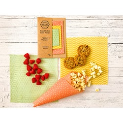 3 Medium Beeswax Wraps - SPECIAL OFFER
