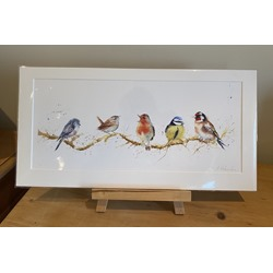 Christmas Carols! - Watercolour Print