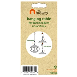 Nuttery Hanging Cable for Bird Feeders