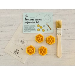 Beeswax Wrap refresher kit