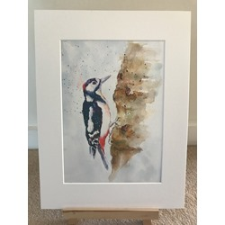 Knock On Wood - Watercolour print and cards
