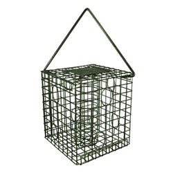 Square Caged Fatball Feeder