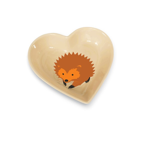 I ❤ Hedgehogs Dish
