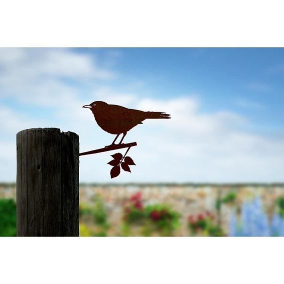Metal Bird -Blackbird