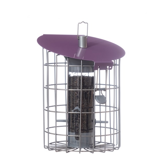 Nuttery Roundhaus Squirrel & Predator Proof Nyjer Feeder