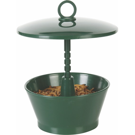 Mini Suet Pellet or Mealworm Feeder