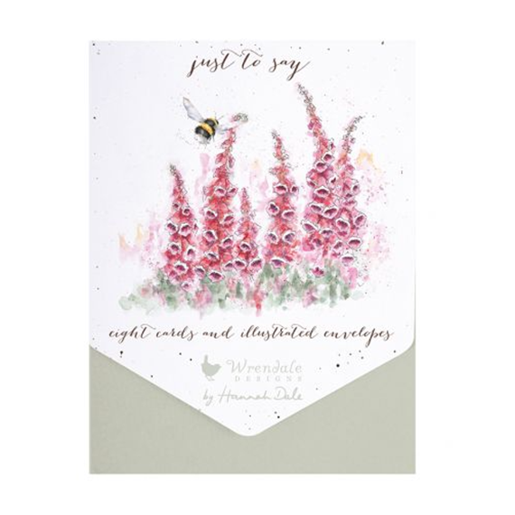 Just to Say Thank You - Packs of 8 cards