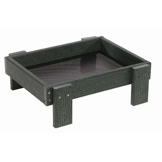 Ground Feeding Tray - Green Woodlook