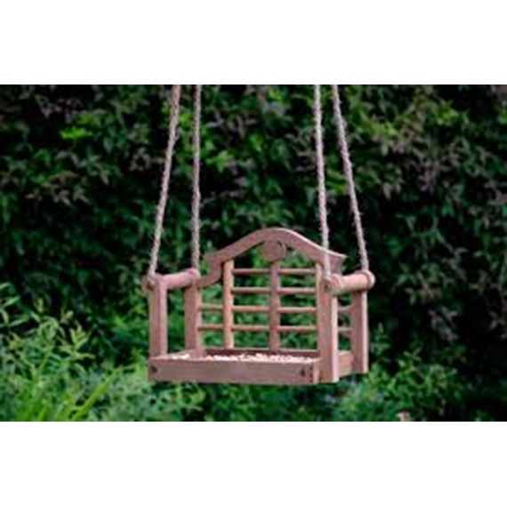 Lutyens Swing Seat Feeder - Brown