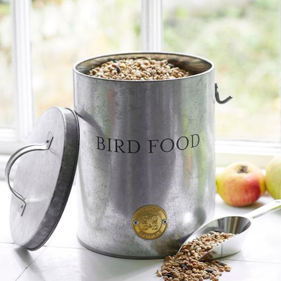 Sophie Conran - Galvanised Bird Food Tin