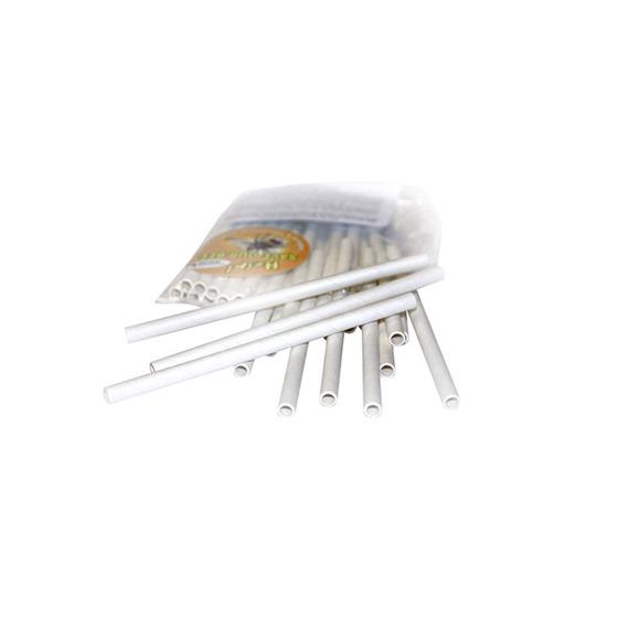 6mm White Cardboard Bee Nesting Tubes - Pack of 30