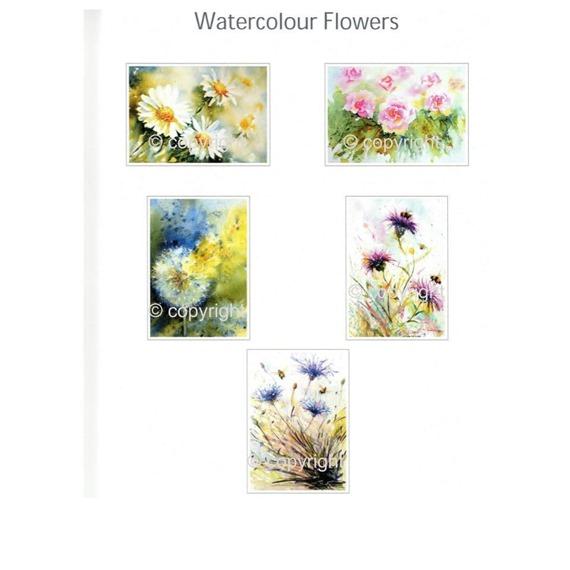 5 Flower Gift Cards