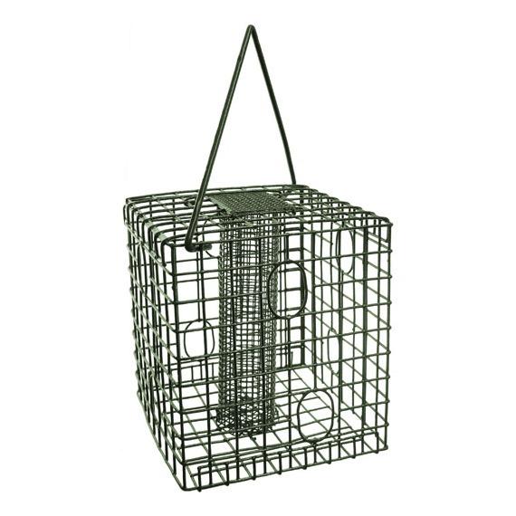 Square Caged Peanut Feeder