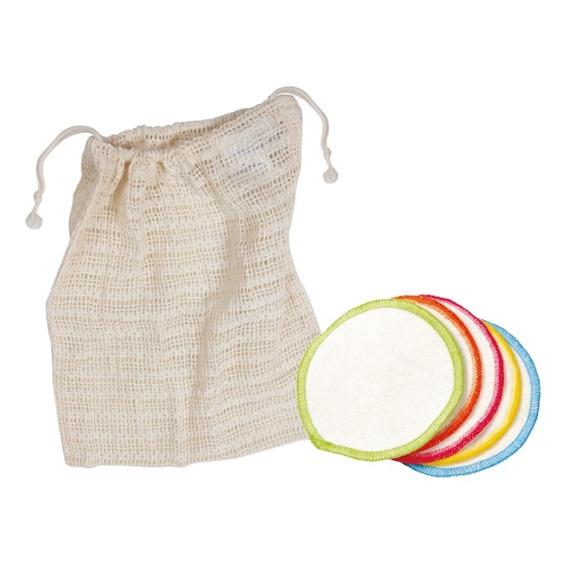 10 Organic Make-Up Remover Wipes & Wash Bag