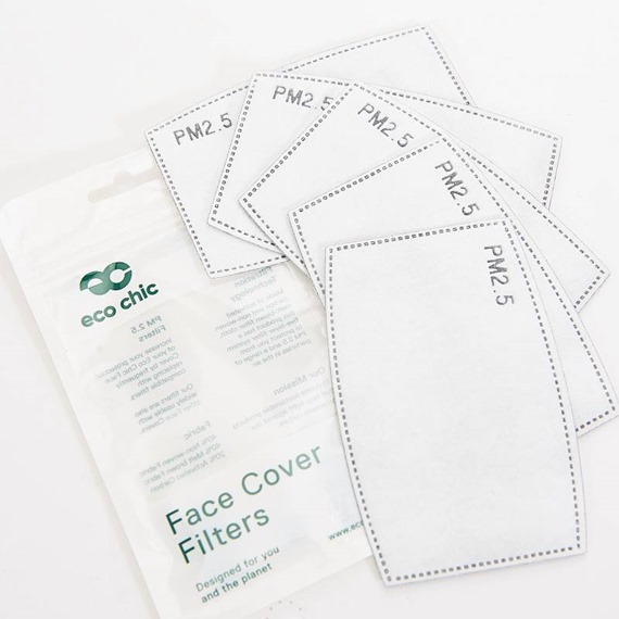 Face Cover Filters (5 per pack)