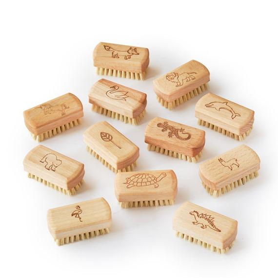 Kids Natural Vegan Nail Brushes