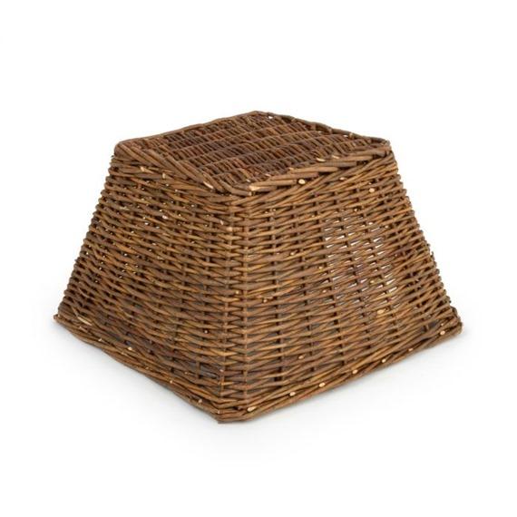 Square Hedgehog Basket - With A Free Bag Of Nesting Hay