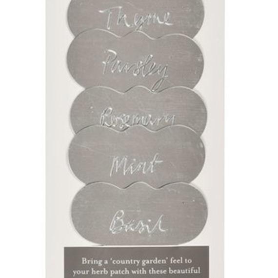Sophie Conran - Galvanized Herb Labels