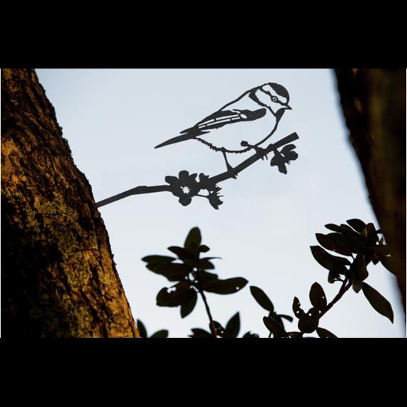 Metal Bird - Blue Tit