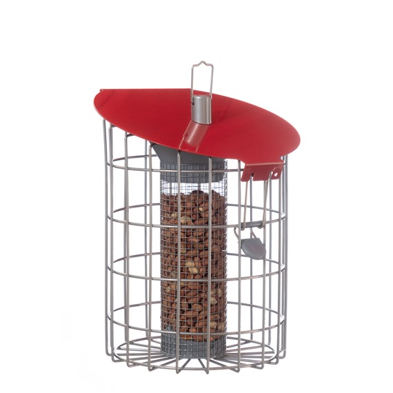 Nuttery Roundhaus Squirrel & Predator Proof Peanut Feeder