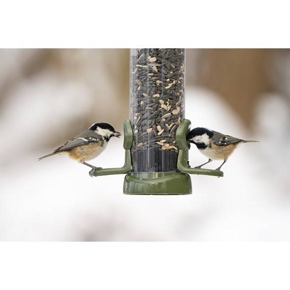 Ring-Pull Click™ Metal Seed Feeders