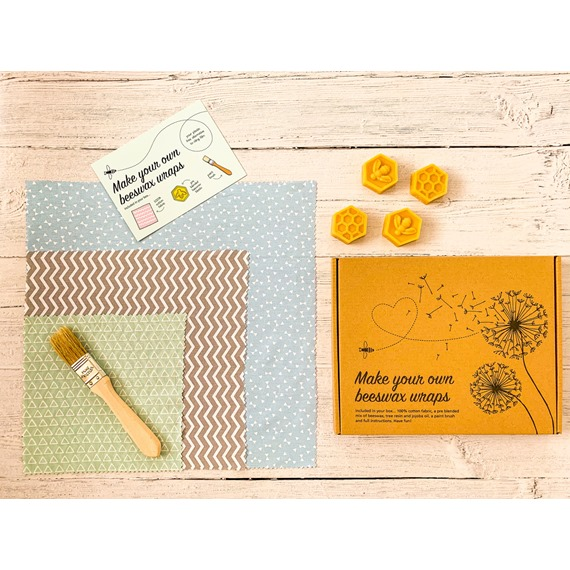 Make your own Beeswax Wraps gift box
