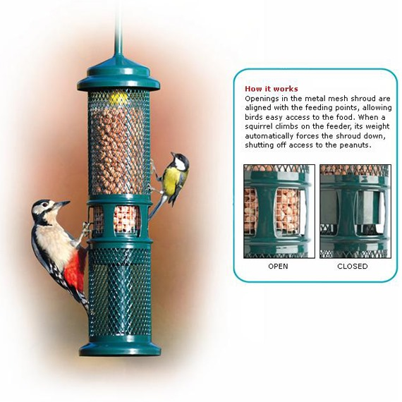 Squirrel Buster™ Peanut Feeder
