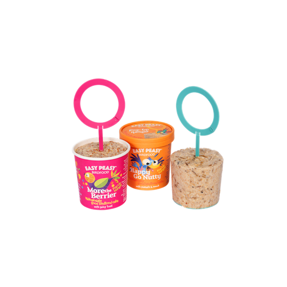 Easy Peasy™ Variety Pack of 3 with A Free Party Perch!