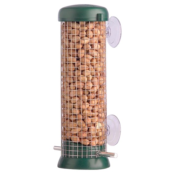 Window Peanut Feeder by Droll Yankee