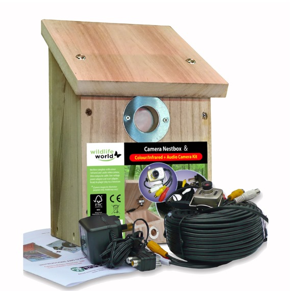 Camera Ready Nestbox - with Colour and Audio Kit