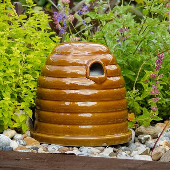 Ceramic Bee Skep