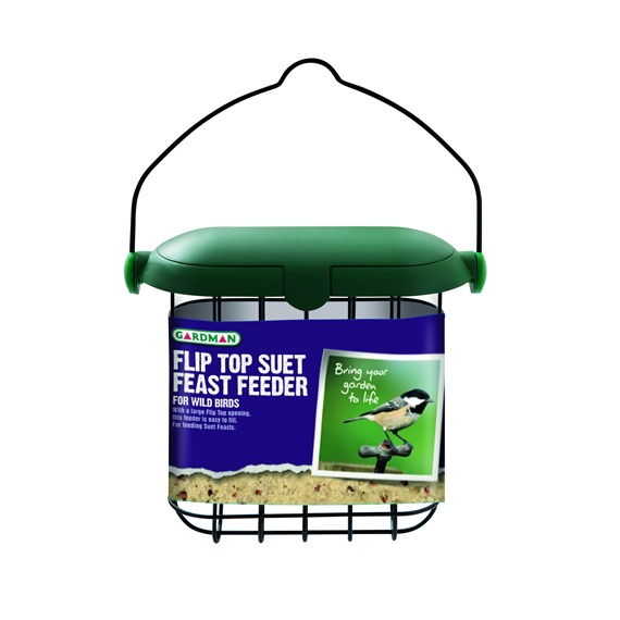 Flip Top Suet Feast Feeder