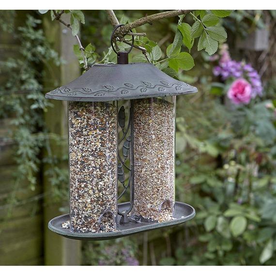 Secret Garden Dual Seed Feeder