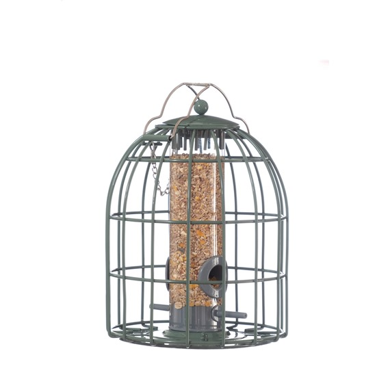 Nuttery Original Compact Squirrel & Predator Proof Seed Feeder