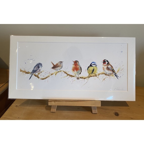 Birds of a Feather - Watercolour Print