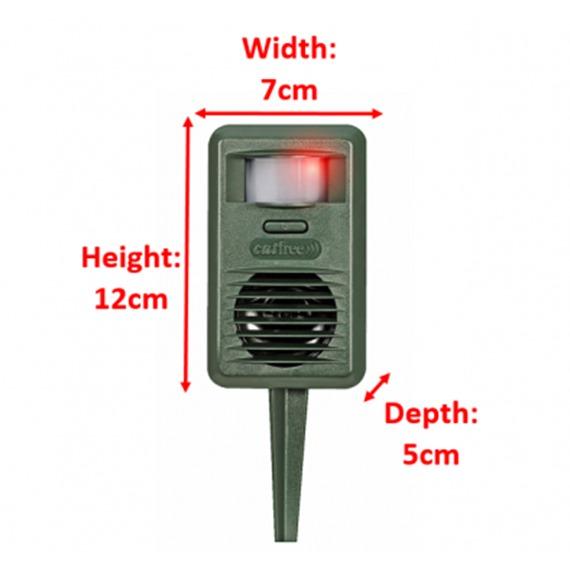 CATFree Ultrasonic Deterrent