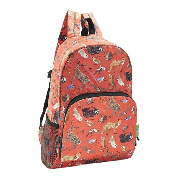 Eco Chic Recycled Foldable Backpack