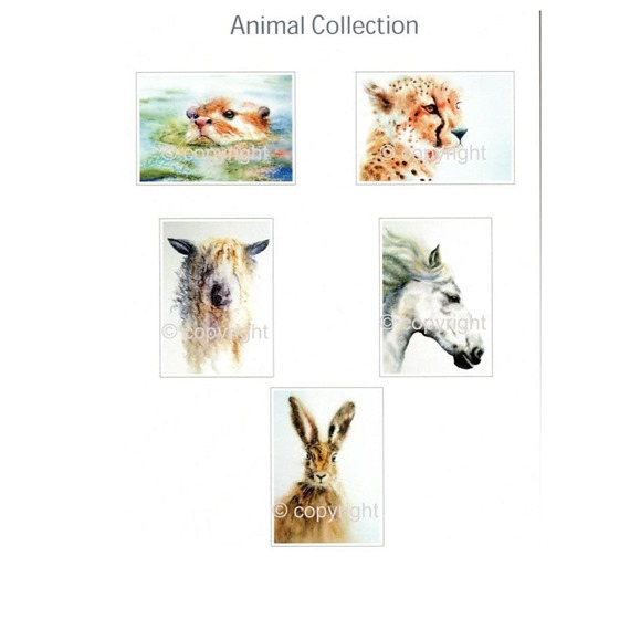 5 Animal Gift Cards