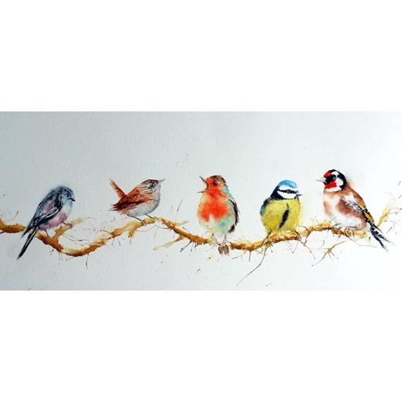 Christmas Carols! - Watercolour Print