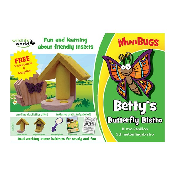 Betty's Minibug Butterfly Bistro!