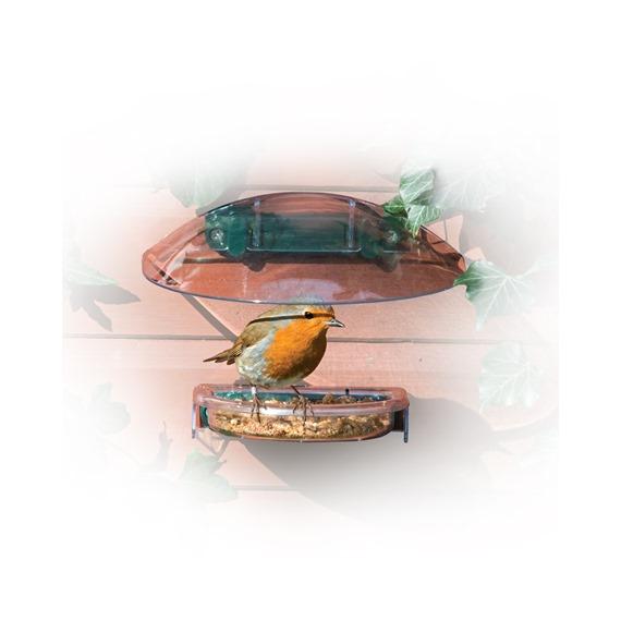 I Love Robin Feeder Fixer for Treat Tray and 20:20 Window Feeder