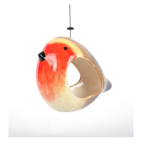 Ceramic Robin Feeder